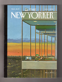 "image of The New Yorker - November 7, 2016. Bruce McCall Cover, ""Glass Houses"". Laura Dern; Hindus for Trump; Adrift; Liu Yiqian Art Museums in China; Trump's American Girl Dolls; Anti-Trump Pastor; Kenneth Lonergan & Hollywood; William Tell at the Met; Hacksaw Ridge; Kerry James Marshall"