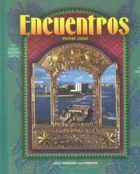Encuentros: Primer Curso by Holt Rinehart & Winston - Hardcover - 1997-06-06 - from Books Express (SKU: 0030951631n)