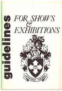 image of GUIDELINES FOR SHOWS AND EXHIBITIONS