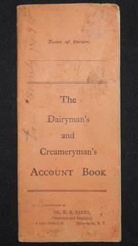 image of The Dairyman's and Creameryman's Account Book