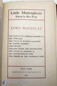 Little Masterpieces: Lord Macaulay [Selected Writings]