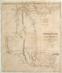 'Western Australia from the Latest Documents Received in the Colonial Office', One of the earliest printed maps of the colony of Western Australia