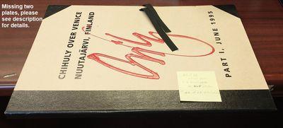 Seattle: Portland Press, 1995. Loose folio. Folio with loose prints inside. VG condition. Half-bound...