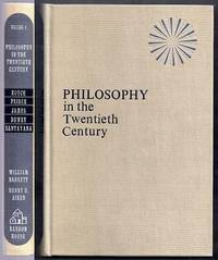 Philosophy in the Twentieth Century. An Anthology. Volume One (1) Only