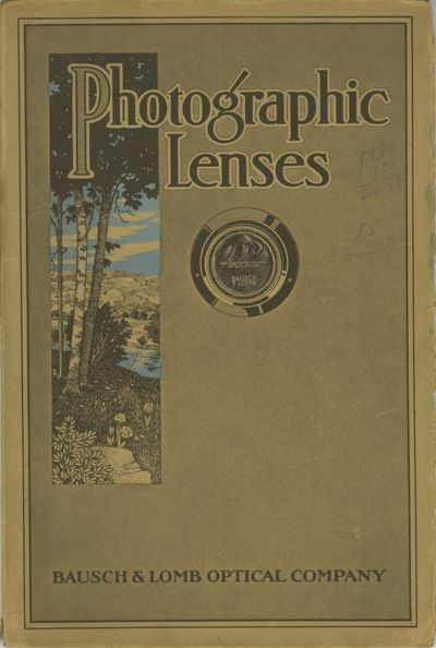 Rochester: Bausch & Lomb Optical Co, 1920. 8vo., 64 pp., illustrated from b&w photographs and engrav...
