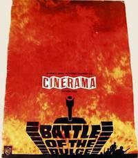 Original Program For The Film, The Battle Of The Bulge.