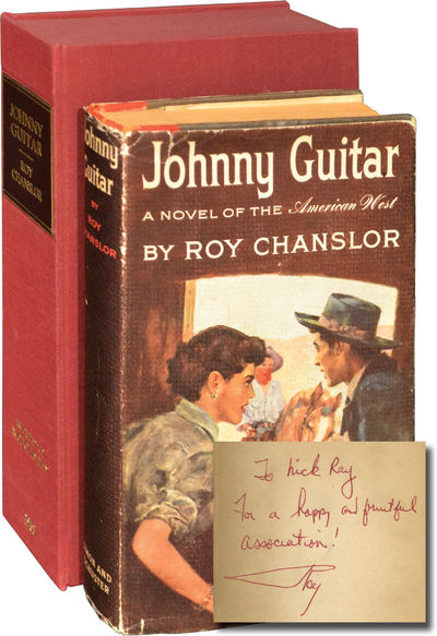 New York: Simon and Schuster, 1953. First Edition. First Edition. Association copy, INSCRIBED by Roy...