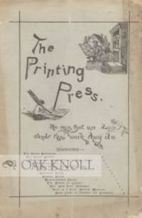 New York: Charles Rollin Brainard, 1886. paper wrappers. 8vo. paper wrappers. 8 pages. Contains an e...