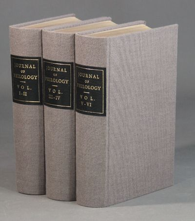 London: Macmillan Co.; Deighton, Bell, Cambridge, 1868. The first 6 volumes bound in 3 (containing 1...