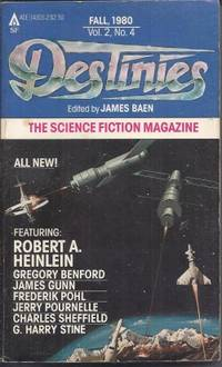 DESTINIES: Fall 1980  - The Paperback Magazine of Science Fiction and Speculative Fact, Vol. 2,...