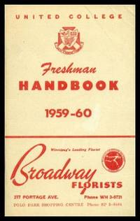 UNITED COLLEGE STUDENT ASSOCIATION FRESHMAN HANDBOOK - Your Guide to College Life for 1959 - 1960