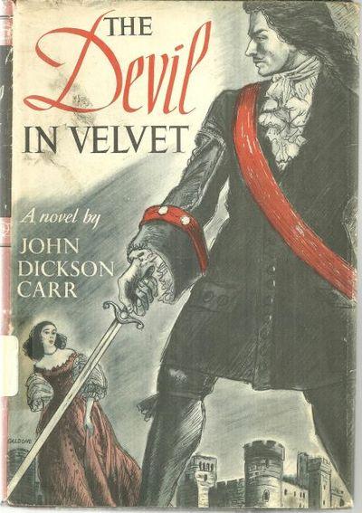 DEVIL IN VELVET, Carr, John Dickson