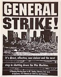 image of General Strike! It's direct, effective, non-violent and the next step in shutting down the War Machine [leaflet]