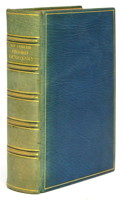 Oxford: at the Clarendon Press, 1972. Fifth Edition, Revised by E. McIntosh. Etymolgies revised by G...