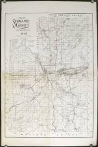 Map of Spokane County, Washington 1949.