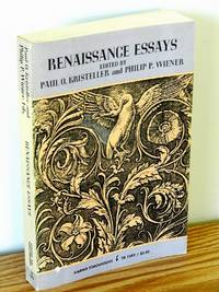 Renaissance Essays from the Journal of the History of Ideas by  Eds Paul O. Kristeller & Philip P. Wiener - Paperback - First Edition - 1968 - from Books from Benert (SKU: 000290)