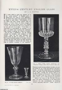 XVIIITH Century English Glass