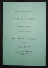 image of The Lansdowne Choristers Present H.M.S. Pinafore by Gilbert and Sullivan [program]