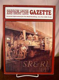 image of NARROW GAUGE AND SHORT LINE GAZETTE - JANUARY/FEBRUARY, 1980; VOLUME 5, NUMBER 6