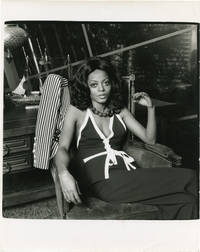 image of Original double weight photograph of Diana Ross, 1974