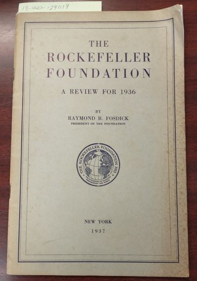 1929. First Edition. Softcover. 8vo., 18 pages; VG; tan cover with typed label, staple bound, stains...