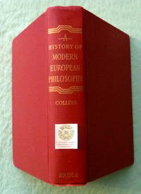 image of A History of Modern European Philosophy