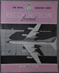 The Royal Observer Corps Recognition Journal October 1961 Vol 3 No 10