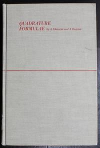 Quadrature formulae,
