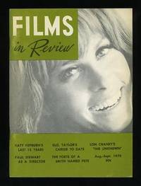 New York: National Board of Review of Motion Pictures. Near Fine. 1970. (Vol. XXI, No. 7). Periodica...