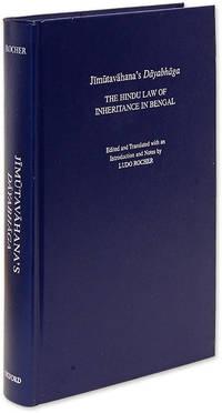 Jimutavahana's Dayabhaga. The Hindu Law of Inheritance in Bengal