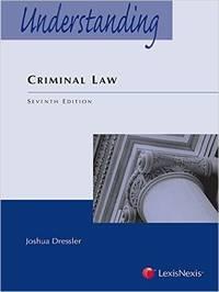 image of Understanding Series: Understanding Criminal Law