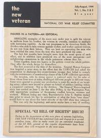image of The New Veteran. Vol. 1, no. 2/3 (July-August 1944)