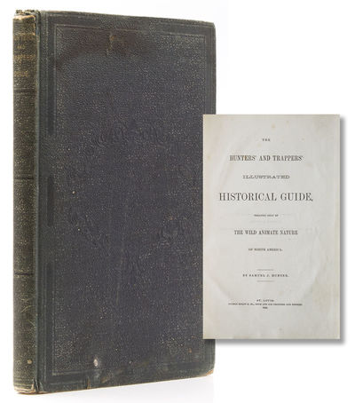 St Louis: George Knapp & Co., Book and Job Printer, 1869. Illustrated. vii, , -208 pp. 1 vols. 8vo. ...