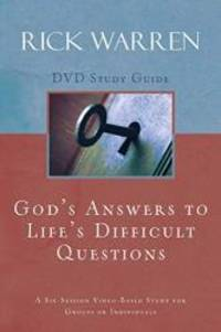 God's Answers to Life's Difficult Questions Study Guide by Rick Warren - Paperback - 2009-03-02 - from Books Express (SKU: 0310326923q)