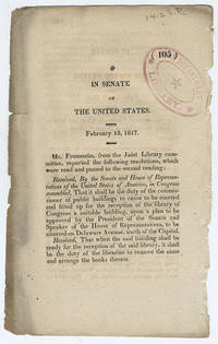 [drop-title] In Senate of the United States. February 18, 1817.