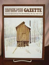 image of NARROW GAUGE AND SHORT LINE GAZETTE - MAY/JUNE, 1980; VOLUME 6, NUMBER 1