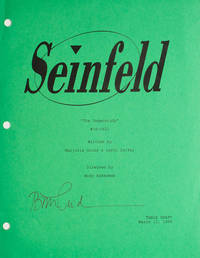 "Seinfeld coversheet for the script of ""The Understudy,"" signed by Bette Midler"