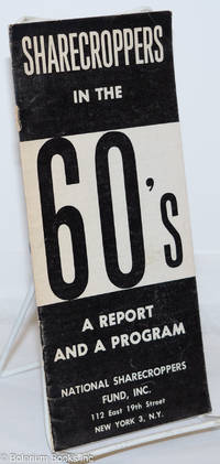 image of Sharecroppers in the 60's; a report and a program