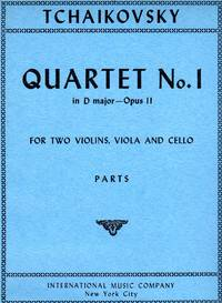 [String] Quartet #1, Op.11 [SET of FOUR PARTS]