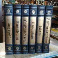 image of Buddhism, Catholicism, Hinduism, Islam, Judaism and Protestantism The  World's Great Religions 6 Volumes Leatherbound Easton Press