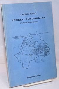 image of Erdelyi Autonomiak (torteneti tanulmanyok)