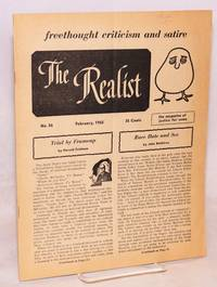 The Realist [no.56], freethought criticism and satire, the magazine of justice for some, Fabruary  1965