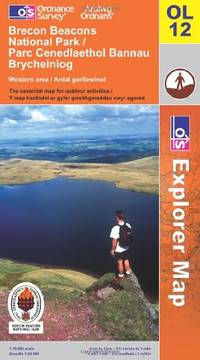 image of Brecon Beacons National Park: Western and Central Areas (Explorer Maps): Western and Central Areas (Explorer Maps) (OS Explorer Map)