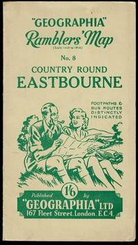 image of Geographia Ramblers' Map No. 8: Country Round Eastbourne