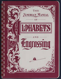 the zanerian manual of alphabets and engrossing rh biblio com American Manual Alphabet zanerian manual of alphabets and engrossing pdf