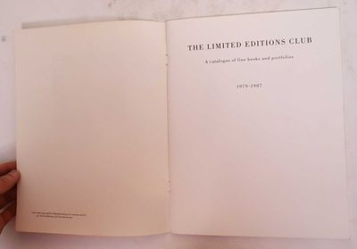 New York: The Limited Editions Club, 1987. Softcover. VG. white covers have light scratches, scuffs ...
