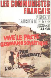 image of Les communistes français pendant la drole de guerre 1939-40