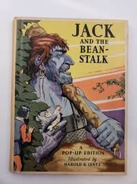 """Jack And The Beanstalk  with """"Pop-Up"""" Illustrations in Color"""
