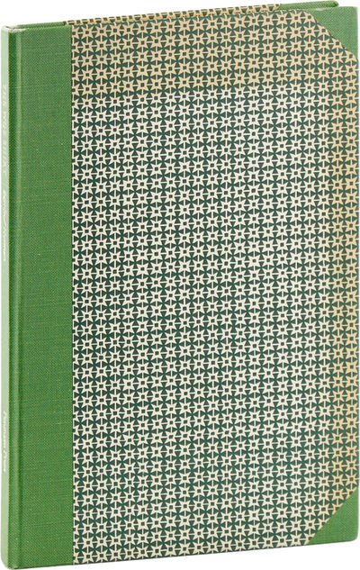 Lincoln, Massachusetts: Panmaen Press, 1980. First, Limited Edition. First Printing. Signed by the t...
