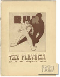 image of R.U.R. [Rossum's Universal Robots] (Original playbill for the 1942 Broadway revival)